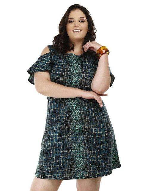 Vestido verde esmeralda liverpool